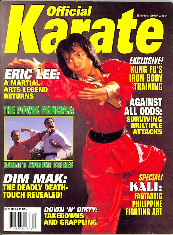 Spring 1994 Official Karate
